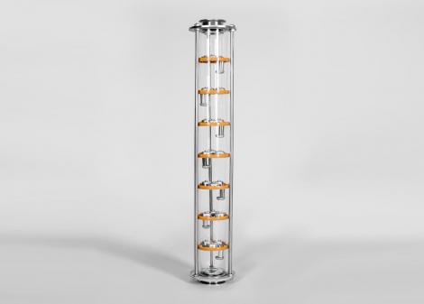 Тарельчатая колонна D75