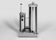 Дымогенератор с фильтром, h - 365 мм.